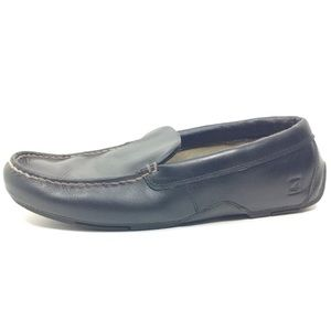 Sperry Topsider Black Leather Loafers